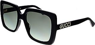 Gucci Lunettes de Soleil GG0418S BLACK/GREY SHADED femme