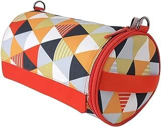 Olve Kitchen paper Towel Holder Hanging Paper Towel Dispenser Cover For kitchen, Camping Outdoor (Orange)