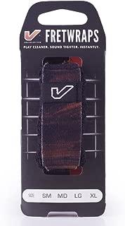 Gruv Gear FretWraps Wood 'Walnut' String Muter 1-Pack (Medium) (FW-1PK-MED-MD)