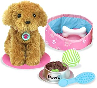 "Sophia's Pets for 18"" Dolls, Plush Puppy Dog Play Set, Perfect Doll Toy for 18"" Dolls 