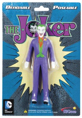 Toysmith NJ Croce The Joker 5-Inch Bendable Figu