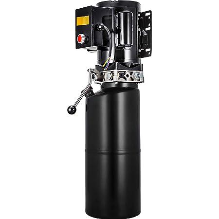 VEVOR 14L Car Lift Hydraulic Power Unit 60hz 1HP Hydraulic Pump Auto Repair Hydraulic Metal Reservoir for Hydraulic Pump Power Unit Tractor Vehicles Car Lift
