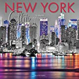 New York Glitz - Glitzerndes New York 2021 - 16-Monatskalender: Original Graphique de France-Kalender