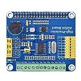 para Placa de expansión Raspberry Pi AD/DA, módulo Digital analógico de Placa de expansión AD/DA de Alta precisión, 8 Canales ADS1256 / 2 Canales DAC8532 para Raspberry Pi A + / B + / 2B