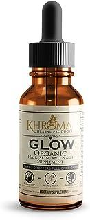 Glow - Organic Hair, Skin, and Nails Supplement - Maximum Strength