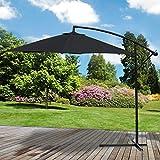 Marko Outdoor 3M Garden Parasol Sun Shade Patio Banana Overhanging Cantilever Umbrella