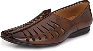 Prolific Men's Brown Casual/Ethnic Loafers