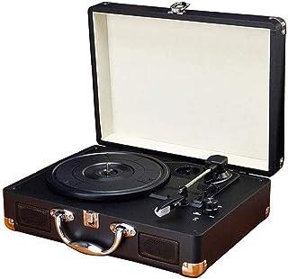 $283 » DSWHM Exquisite and Elegant LP Vinyl Record Player Portable Small Antique Retro Bluetooth Audio Portable Phonograph Vintag...