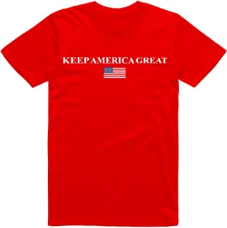 Great Americans Keep America Great USA Flag Subtle Design Classic T-Shirt