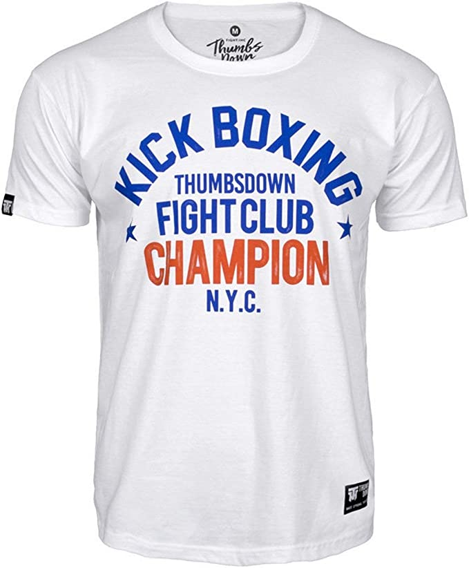 Casual 1974 Brklyn Thumbs Down Boxing T-Shirt Training MMA Gym Martial Arts Boxen