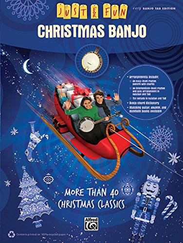 Just for Fun: Christmas Banjo (Just for Fun (Alfred))