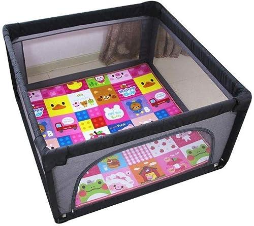 FHL001 Glatter Minimalistischer Babyspielzaun - Kindersicherheitszaun, Kinderbaby Innensicherheitsspielzaunzaun Im Freien