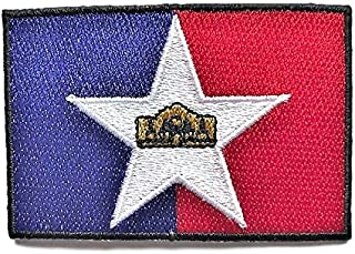 """Best City of San Antonio Flag Patch/Cities of Texas Moral Patch Collection (SA TX, 2"""" 3"""") Reviews"""