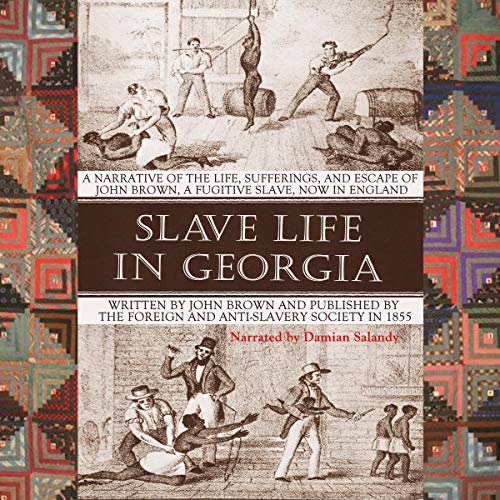 Slave Life in Georgia audiobook cover art