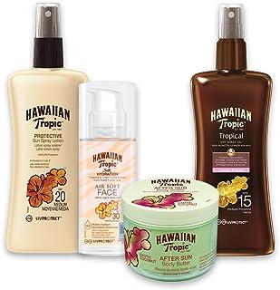 Hawaiian Tropic PACK Belleza - Kit con Aceite Seco