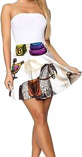 Bbhappiness Design Theme Summer Women's Shorts Skirt Zodiac Pattern