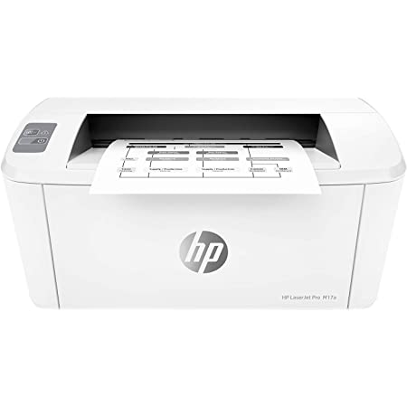 HP Laserjet Pro M17a Single-Function Laser Printer, USB connectivity, Compact Design