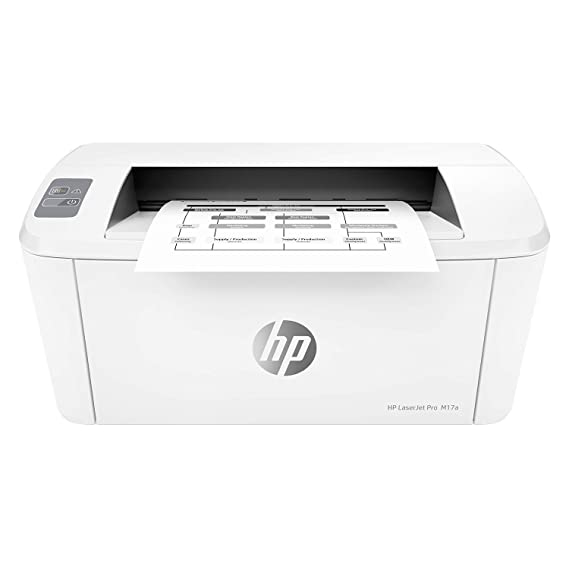 HP Laserjet Pro M17a Single-Function Laser Printer, USB connectivity, Compact Design