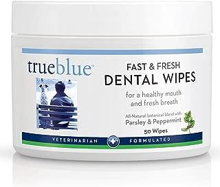 True Blue Fast and Fresh Dental Swipes, (50 Count)
