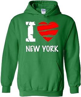 I Love New York – más populares Estado serie unisex sudadera con capucha sudadera