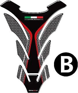 Tankpad Sticker Protection de Reservoir Moto Autocollant en Gel compatible pour D.ucati Multistrada 1260 Enduro v1
