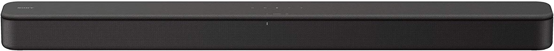 Sony S100F 2.0ch Sound Bar with Bass Reflex Speaker, Integrated Tweeter and Bluetooth, (HTS100F) (Renewed)