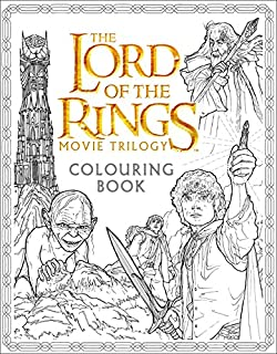 The Lord of the Rings Movie Trilogy Colouring Book [May 23, 2016] Warner Brothers; Tolkien, J. R. R. and Caven, Nicolette