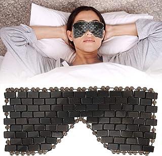 Natuurlijk Jade Slaapmasker, Jade Stone Oogmasker Koeling Slaapmasker Oogmasker Koudetherapie Oogbehandeling Massager voor...