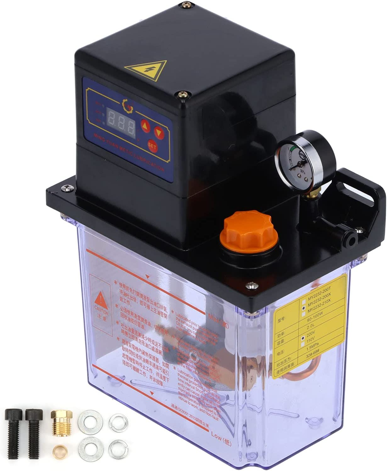 Electric Oil Pump Intermittent Setting Lubrication Max 71% OFF Time Max 43% OFF fo