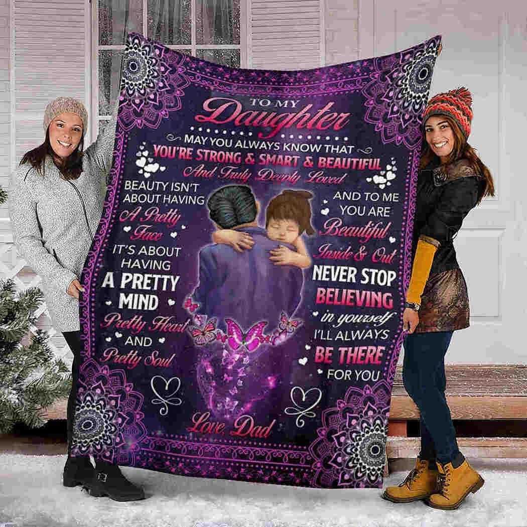 Little In San Antonio Mall stock Girl Mandala Blanket I'll Always There for Throw You B Be