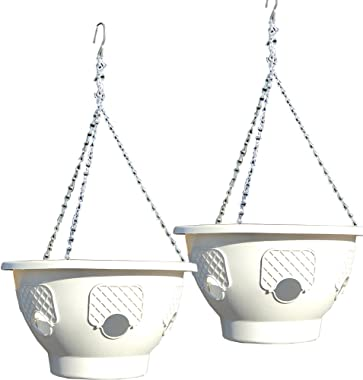 Ultimate Hanging Baskets - Strawberry, Tomato, Flower, and Herb Outdoor Planters - Use Garden Pots For Growing Plants Outside