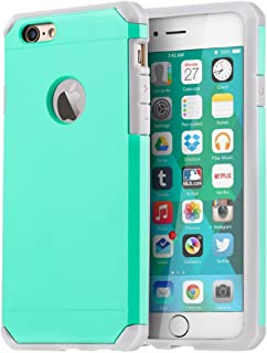 IMPACTSTRONG iPhone 6 / 6s Case, Heavy Duty Dual Layer Protection Cover Heavy Duty Case for Apple iPhone 6 / 6s (Mint)