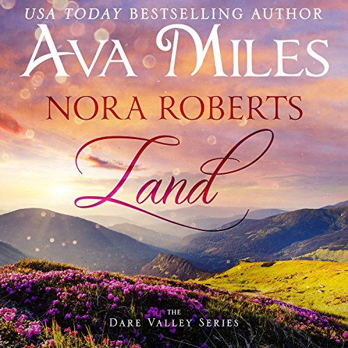 Nora Roberts Land  audiobook cover art