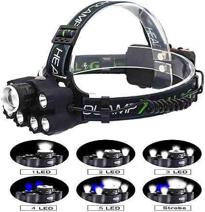 QQZD T6 Scheinwerfer Licht Taschenlampe Multifunktions COB COB COB Starke Scheinwerfer Lila LED Lade für Laufen Camping Wandern Angeln B07QCYL579     | Hohe Qualität  411455