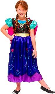 Regina 107900.0, Fantasia Frozen Anna Clássica, Multicor