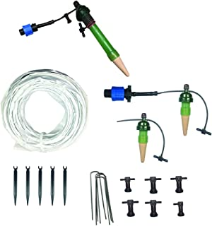 Blumat Deluxe BluSoak Drip Tape Irrigation System for 4 x 4 Fabric or Raised Beds, or 200 Gallon Pots, Deluxe