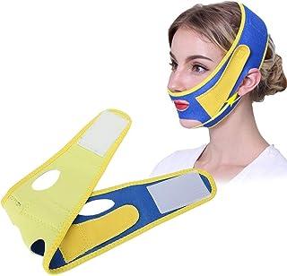 Gezichtsafslankband,Gezichtsafslankmasker,Gezichtsvermagering Bandage Shaper Afslankmasker, Dames natuurlijke gezicht lift...
