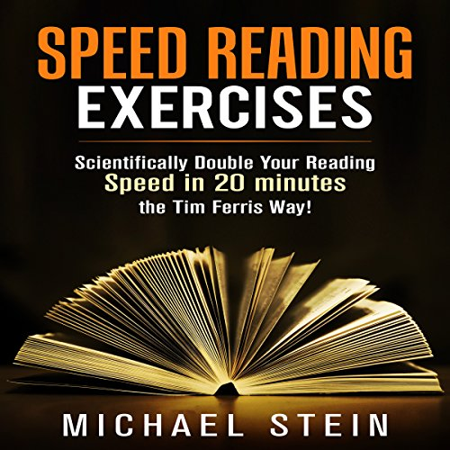 Speed Reading Exercises audiobook cover art