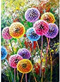 ZAWAGU DIY Pintura Digital Hojas de otoño Adultos Niños Pintura Digital Set Decoración Regalos sin Marco