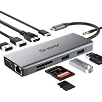 TOTU USB Type C Hub Compatible for Mac Pro and Other Type C Laptops