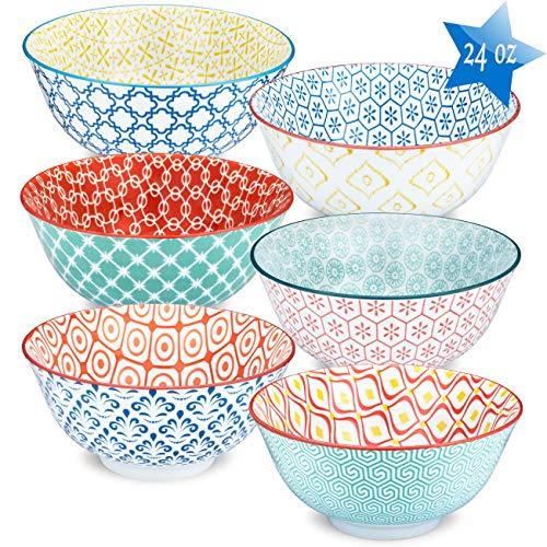 Astoria Premium Porcelain Bowls Set - Soup Bowls.