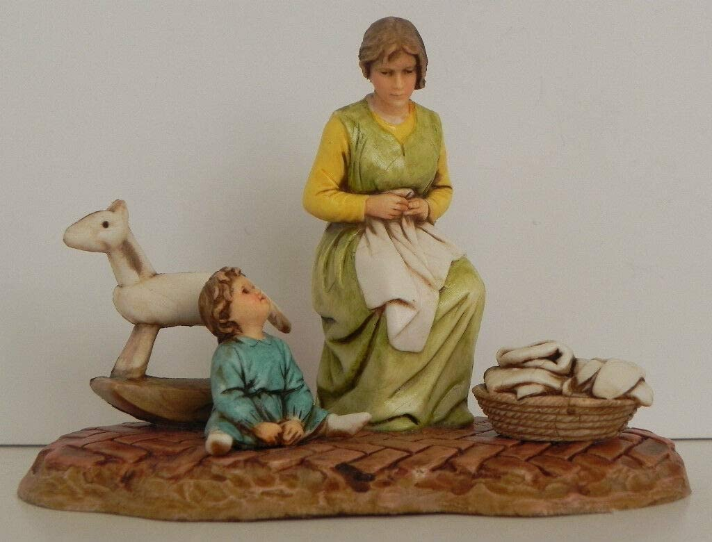 Nativity Scene Village Figurine Presepio New color Albuquerque Mall para Figura Pesebre Bel