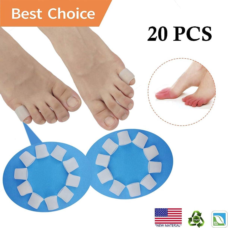 そして同一の蒸発するPnrskter ジェル 足指 キャップ プロテクター 足指 袖 水疱用 トウモロコシ、ハンマーつま先、巻き爪、爪損失、摩擦疼痛緩和 など (type2(10 個入り))