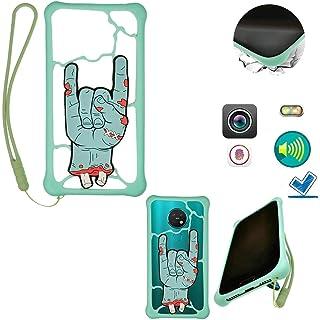 "Universel Case For Tecno Spark 4 Lite Stand Cover Case Compatible 4""-6.6"" Smartphone LSZ"