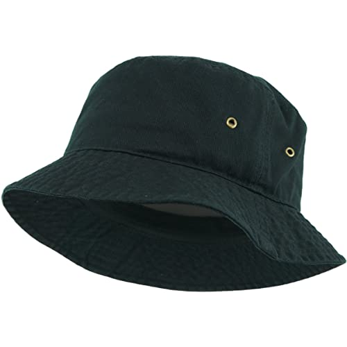 6789ec74 KBETHOS Unisex 100% Washed Cotton Bucket Hat Summer Outdoor Cap