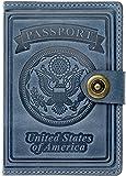 Villini - Leather US Passport Holder Cover...
