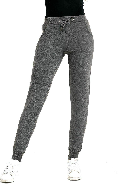 NY Deluxe Edition Femme Cheville Bas de Jogging en Polaire Slim Fit Femmes Sports Gym Joggers Taille UK S /à XL