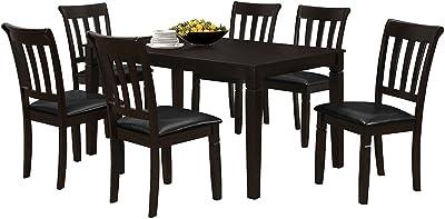 Amazon.com: Acme 70500 Malik mesa de comedor, Café expreso ...