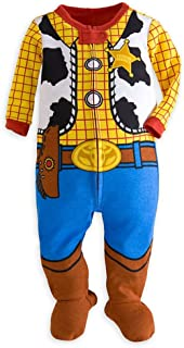 Store Toy Story Woody Costume Little Boy Footed Sleeper Pajama 18-24 M