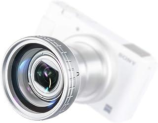 Ulanzi Sony ZV-1に対応 広角レンズ 白 超広角レンズ+マクロレンズ 52mmレンズ接写リングもレンズカバー付き ホワイト WL-2